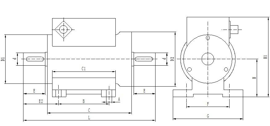 一、应用范围: KR系列扭矩传感器是一种测量各种扭矩、转速及机械功率的精密测量仪器。应用范围十分广泛,主要用于: 1、电动机、发动机、内燃机等旋转动力设备输出扭矩及功率的检测; 2、风机、水泵、齿轮箱、扭力板手的扭矩及功率的检测; 3、铁路机车、汽车、拖拉机、飞机、船舶、矿山机械中的扭矩及功率的检测; 4、可用于污水处理系统中的扭矩及功率的检测; 5、可用于制造粘度计; 6、可用于过程工业和流程工业中。 二、量程范围及特点 1、额定扭矩量程:0.